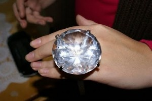 biggest diamond ring ever